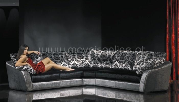 sofás de canto