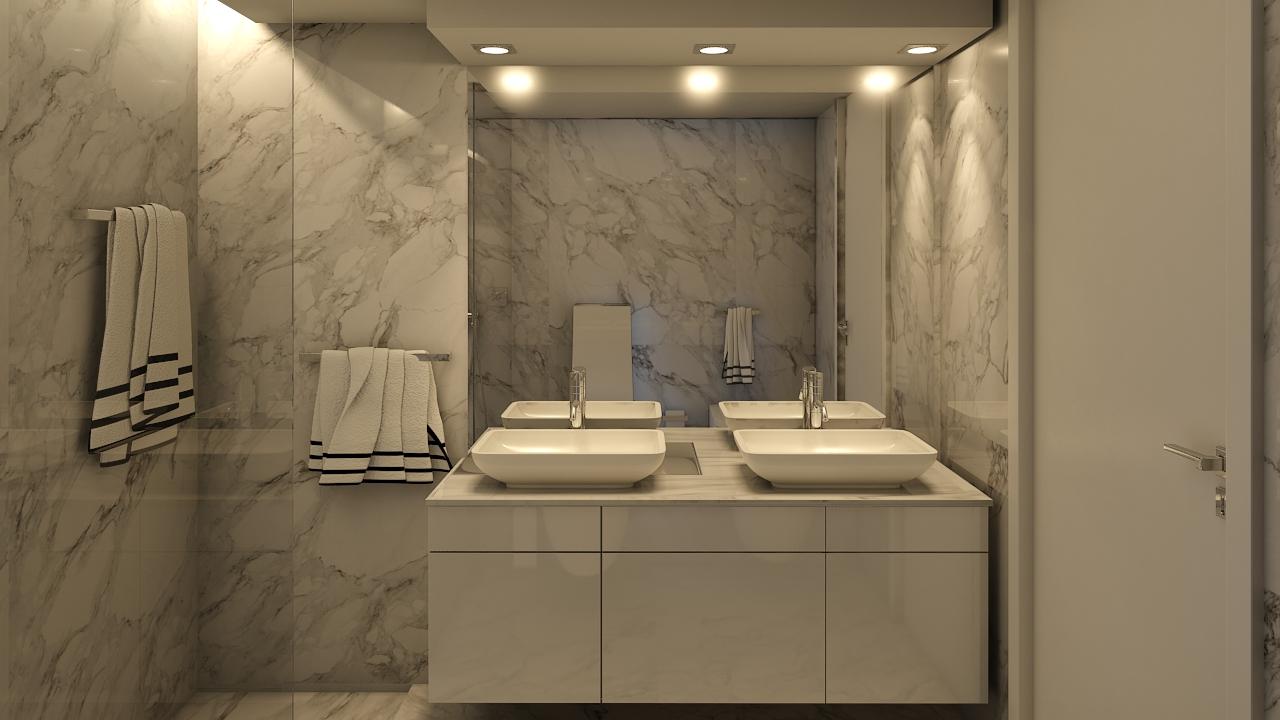 decoração wc