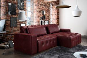 sofas vermelho