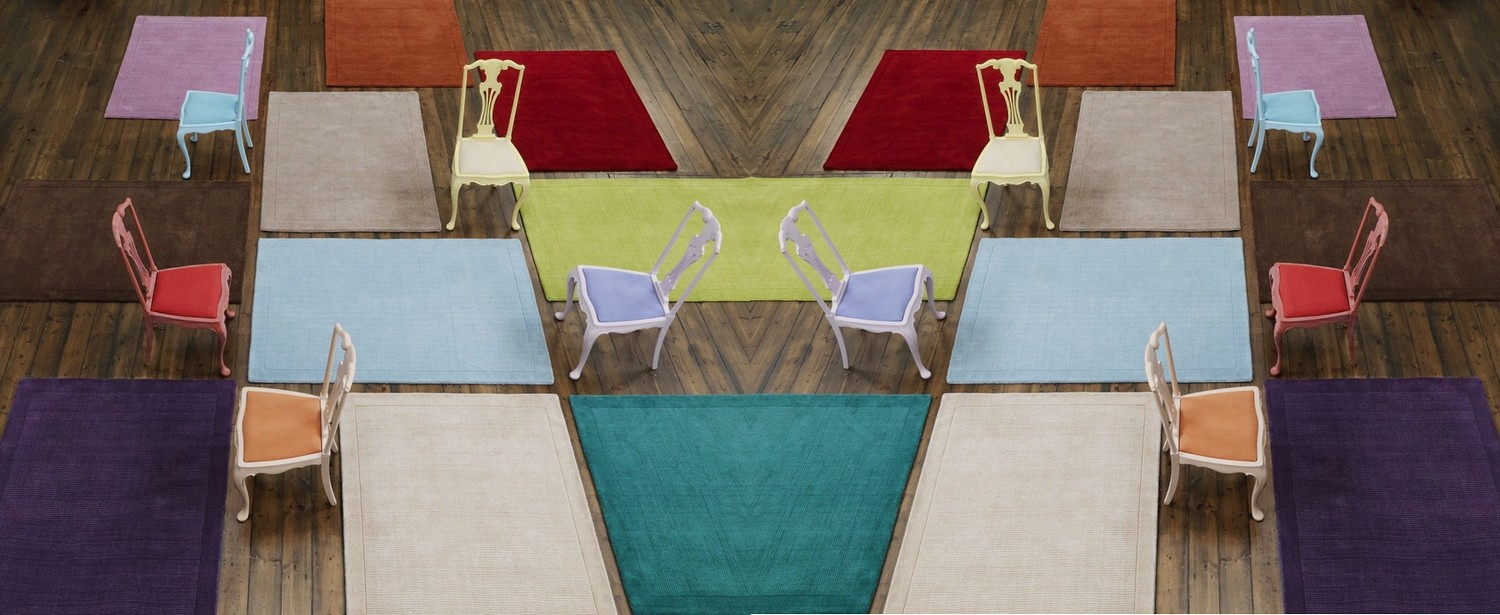tapetes modernos
