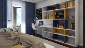 estantes modernas