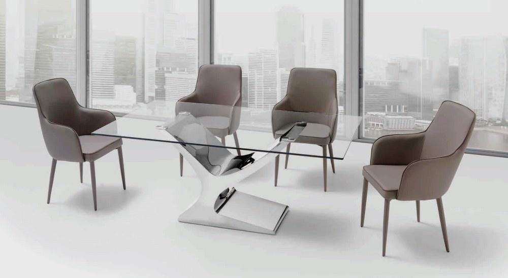 mesas de vidro