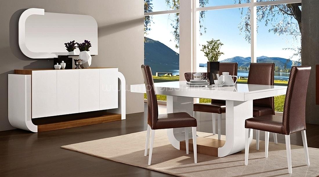 salas de jantar modernas